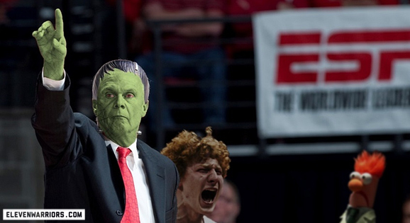 We can't really decide what kind of undead character Bo Ryan is