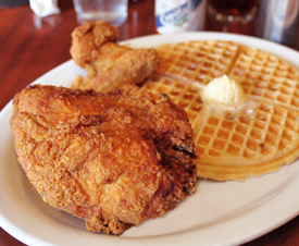 Mmm... Chicken 'N Waffles