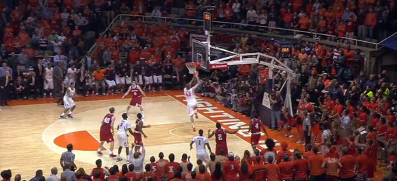 GREAT MOMENTS IN ILLINI BASKETBALL HISTORY