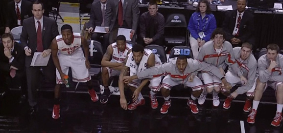 The bench is ready to party