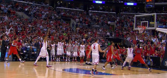 LaQuinton Ross knew his final shot against Arizona was good the entire time.