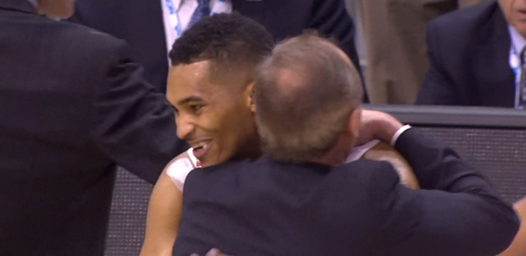 Thad Matta had nothing but love for LaQuinton Ross Thursday night