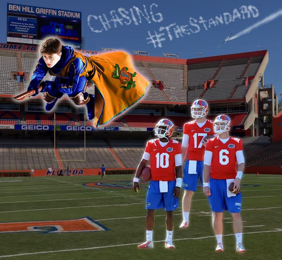 Florida thinks this will work on the recruiting trail. Pssst... Tell them it will.