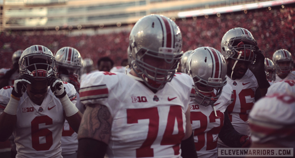 Ohio State's Jack Mewhort is growing into a beast on the offensive line.