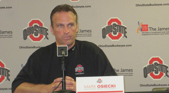 Mark Osiecki is out at Ohio State after just a few seasons on the job.