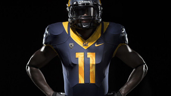 Cal's new unfiroms will be on display this fall when Ohio State visit the Bears.