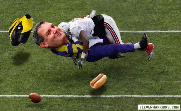 David Perkins destroying Brady Hoke