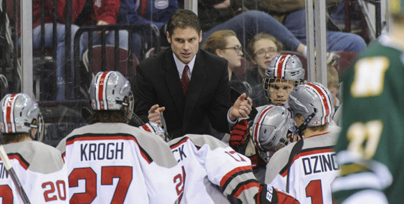 Steve Rohlik takes over as the 9th head coach in Ohio State men's ice hockey program history.