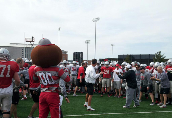 Urban Meyer explains the circle drill