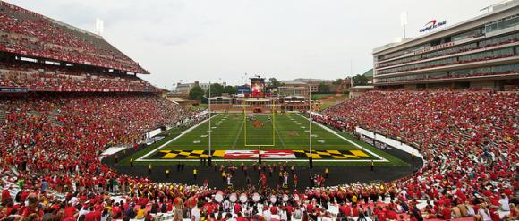 Ohio State travels to Byrd Stadium on Oct. 4.