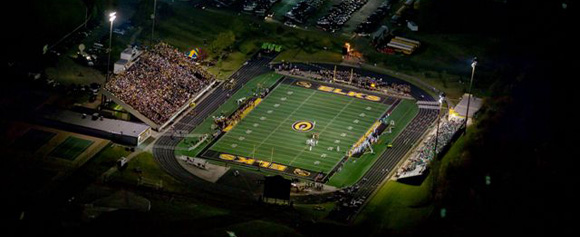 Centerville Stadium, home of the Elks