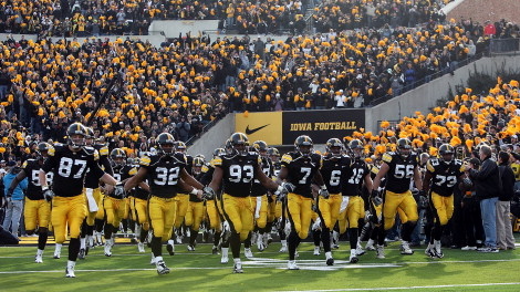 The Buckeyes haven't faced Iowa since 2010.