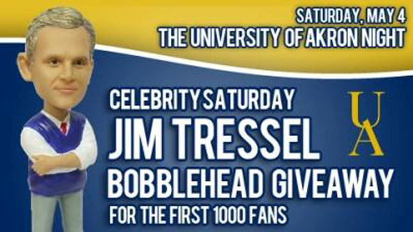 Jim Tressel bobblehead night is a thing