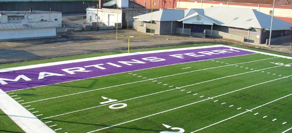 Martins Ferry, where football is king.