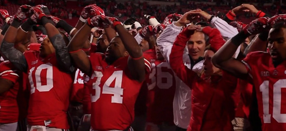 Urban Meyer is happy at home. Can he match Saban's feat?