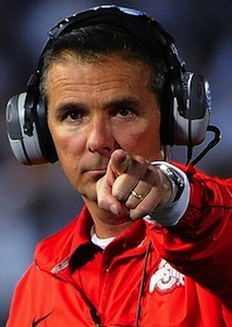 Urban Meyer pointing