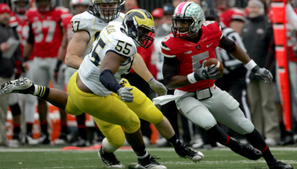 The least offensive OSU alternate uniforms in recent years - 2012.