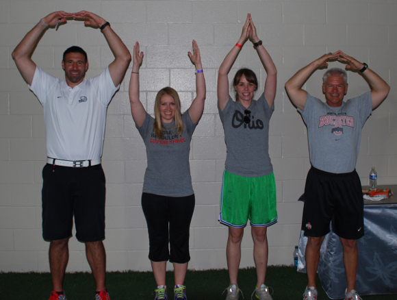 O-H-I-O, including Mike Vrabel and Kerry Coombs