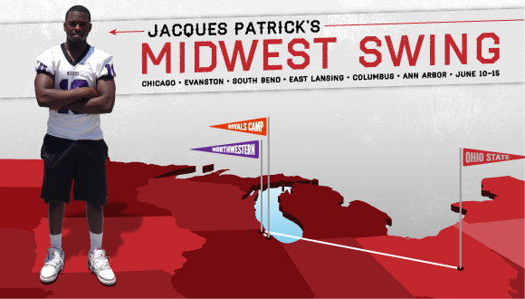 Patrick's midwest swing made a detour.