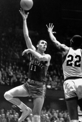 Middletown's most famous citizens as voted by the people: 1. Jerry Lucas 2. Cris Carter 3. Johnny Ginter