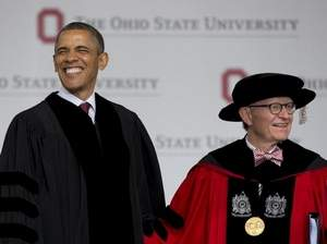 Gordon Gee's most appalling crime was this hat.