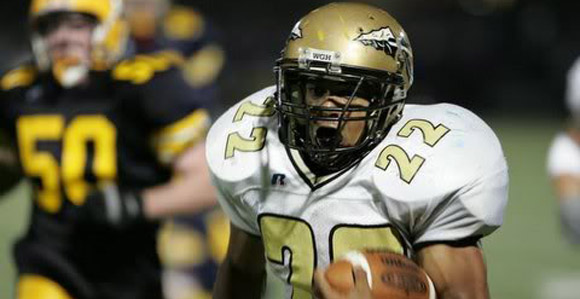 Boom Herron followed in Maurice Clarett's footsteps, first starring for Harding before going on to Ohio State