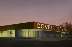 Covelli Arena will be home to the gymnastics, wrestling, volleyball and fencing teams.