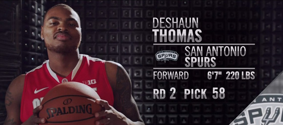 deshaun thomas spurs - photo #32
