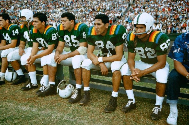 Hawaii Rainbow Warriors 1959 uniforms