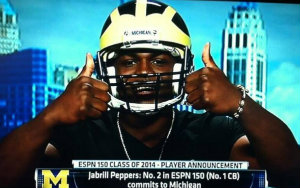 Jabrill Peppers commits to going 0-4 against Ohio State