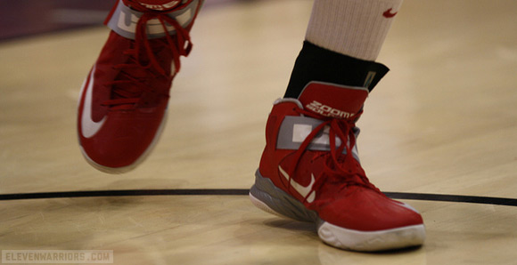 Thad Matta's team wears LeBron gear on and off the court.