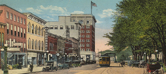 Market Street, Warren, Ohio (1916)