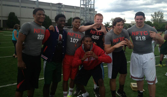 Ohio State commits at Sunday's NFTC Columbus event