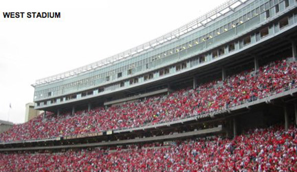 Permanent lights will go in over Ohio Stadium's east and west stands