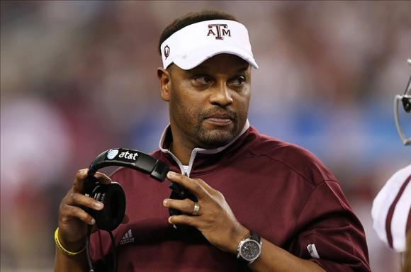 Sumlin is an up-and-comer in the coaching profession.