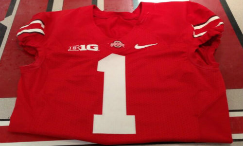 Could Brandon Harris be the next Buckeye to wear this jersey?