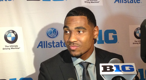 Braxton Miller: Cool, calm and collected at the 2013 Big Ten Media Days