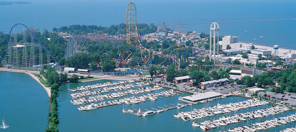 Cedar point is nirvana for coaster fans.