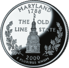 Maryland's state quarter