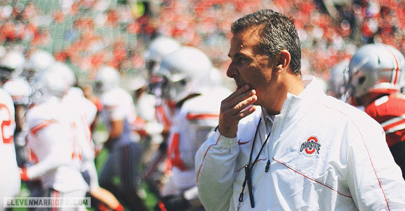 Urban Meyer will be on the hot mic at Big Ten media days in Chicago.