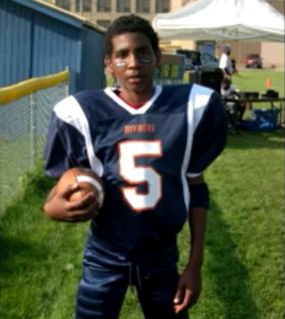 Young Braxton Miller on the Springfield Broncos