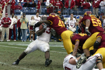 Alabama v. Minnesota in the 2004 Music City Bowl