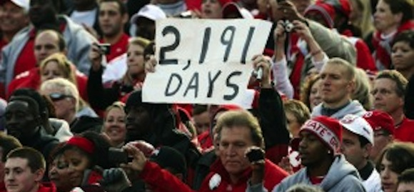 Why do they hate Jim Tressel? Let us count the days.