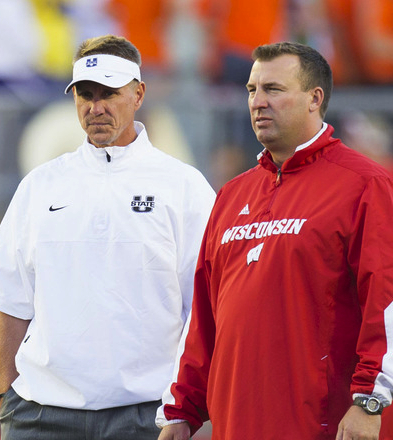 Gary Andersen and Bret Bielema