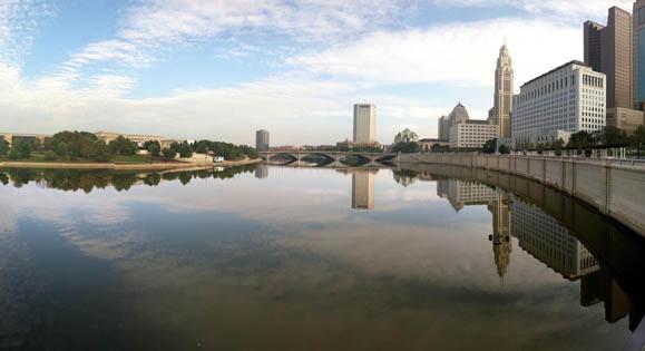 Columbus, you beautiful dame.