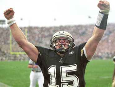 Drew Brees played for Purdue. You wouldn't know it from watching BTN.