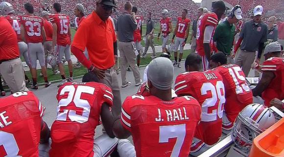 Jordan Hall had a career day.