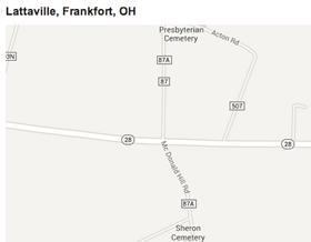 Lattaville, Ohio, home of Shelley Meyer.