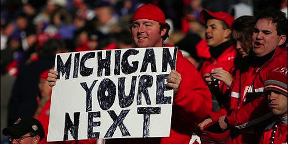 MICHIGAN YOUR NEXT <---- NOT TODAY, #YOUR