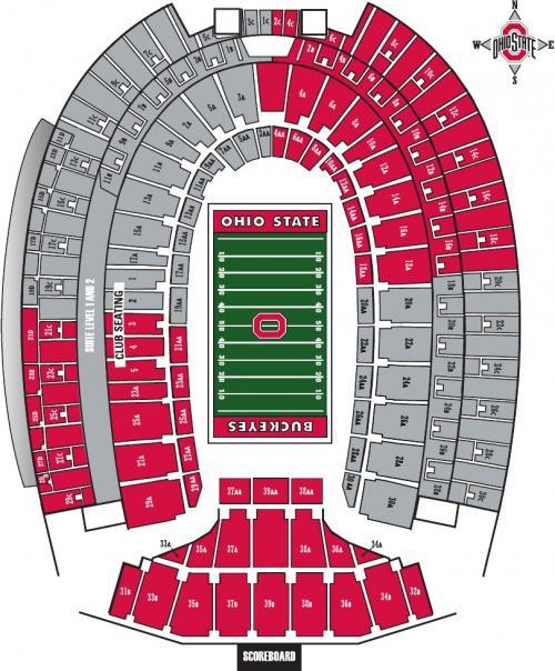 Scarlet And Gray Ohio Stadium On Aug 31 Eleven Warriors